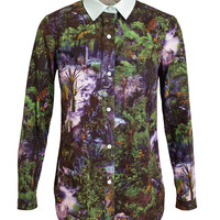 CARVEN | Jungle Printed Cotton Shirt | Browns fashion & designer clothes & clothing