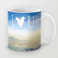 I love Rio Mug by Louise Machado