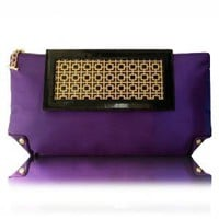 Double Art Deco Clutch | Poupee Couture