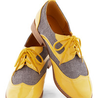 Your Sunny Day Best Flat | Mod Retro Vintage Flats | ModCloth.com