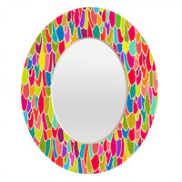 Sharon Turner Tickle Me Oval Mirror