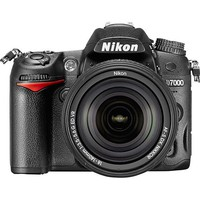 Nikon - D7000 Digital SLR Camera with 18-140mm VR Lens - Black