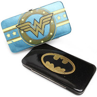 Batman-Batgirl Hinge Wallets