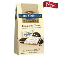 Cookies & Creme SQUARES Stand Up Bag