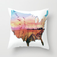 It's California Country Throw Pillow by DuckyB (Brandi)