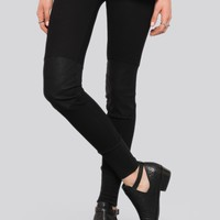 MOTO KNEE THERMAL LEGGINGS