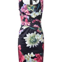 Lipsy V I P Floral Print Shift Dress