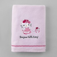 Sanrio Hello Kitty Bonjour Paris Bath Towel