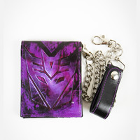 Transformers Decepticon Chain Wallet
