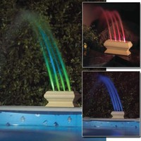Color Changing Swimming Pool Fountain