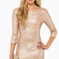 See Me Sequin Bodycon Dress $53