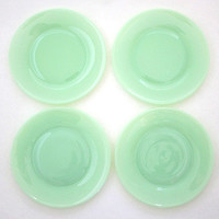 Jadeit Dessert Plate - Set of 4