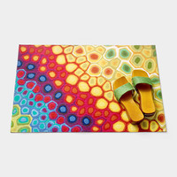 Pop Swirl Floor Mat