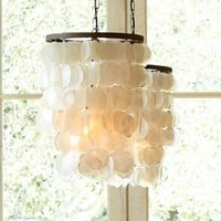 CAPIZ CHANDELIER - SMALL