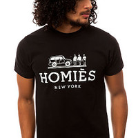 The Homies Tee in Black