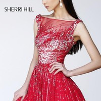 Sherri Hill Short Dress 8519 at Prom Dress Shop