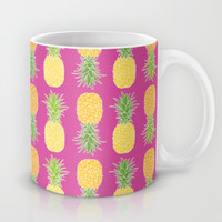 Pineapples Mug by Ornaart