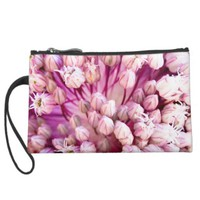 Summer Buds Flower Purse Wristlet Purse