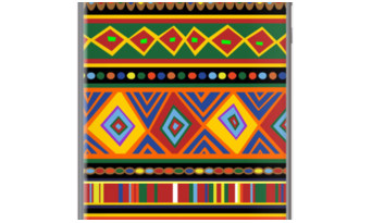 Ethnic Tribal Africa Art Design By BluedarkArt for Apple iPhone 5