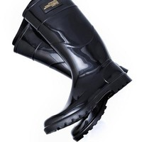 Dolce & Gabbana Knit Lining Rain Boots- Made in Italy - Dolce & Gabbana For Her - Modnique.com