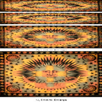 Jumbo Good Morning Sun Tapestry Wall Hanging