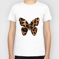 LEOPARD BUTTERFLY 2 Kids T-Shirt by catspaws