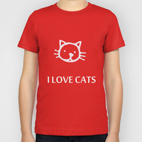 I LOVE CATS Kids T-Shirt by catspaws