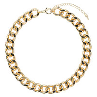 Thick Chunky Chain Collar