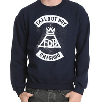 Fall Out Boy Logo Crewneck Sweatshirt