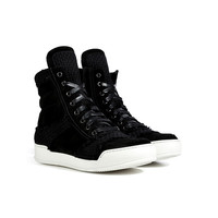 Balmain - Suede Sneakers in Black
