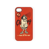 Mr. Spray iPhone Case (Red)