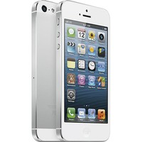 Apple® - iPhone® 5 with 16GB Memory Mobile Phone - White & Silver (AT&T)
