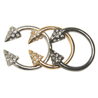 Arrow Ring Set | Arden B.