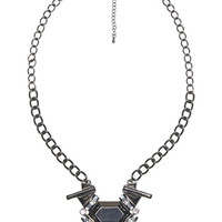 Iridescent Stone Necklace | Arden B.