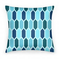 Blue Crystals (pillow)