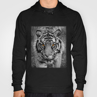TIGER PORTRAIT Hoody by catspaws