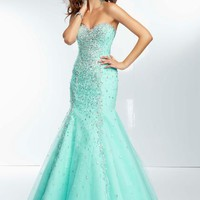 Mori Lee Dress 95003 at Peaches Boutique