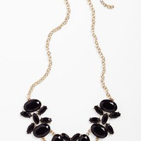 Stephan & Co. Stone Bib Necklace (Juniors) | Nordstrom