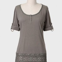 Benham Park Lace Detail Top