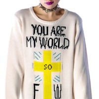 You are My World Sweater