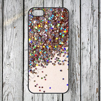 iPhone 5s case iPhone 5 case Glitter iPhone 5c case sparkle iPhone 4s case iPhone 4 case iPhone case iPhone covers -59