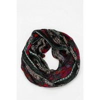 Tapestry Crosshatch Eternity Scarf