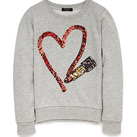 Lipstick Love Sweatshirt (Kids)