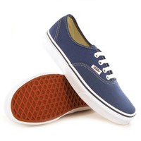 Vans Classic Authentic Navy Womens Trainers