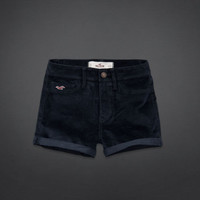 Hollister High Rise Velvet Short-Shorts