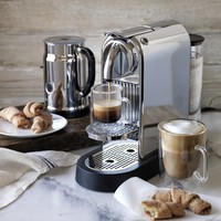 Nespresso Citiz Espresso Maker with Aeroccino Plus Automatic Milk Frother, Chrome