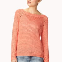 Show Off Open-Back Sweater