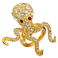Kenneth Jay Lane Octopus Ring - Max & Chloe