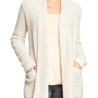 Women's Textured Open-Front Sweaters
