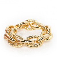 SAREH CHAIN BRACELET IN GOLD